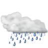 Status-weather-showers icon