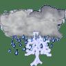 Status-weather-storm icon