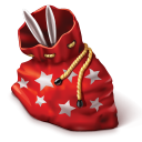 Bag-with-gifts icon