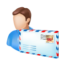 Accounting mail icon