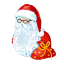 http://icons.iconarchive.com/icons/painticon/plastic-new-year/64/santa-icon.png