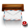 Wood-mail icon