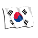 South-Korea-Flag icon