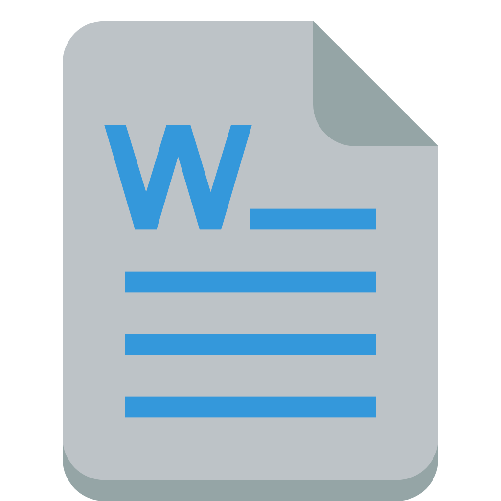 File word Icon   Small...