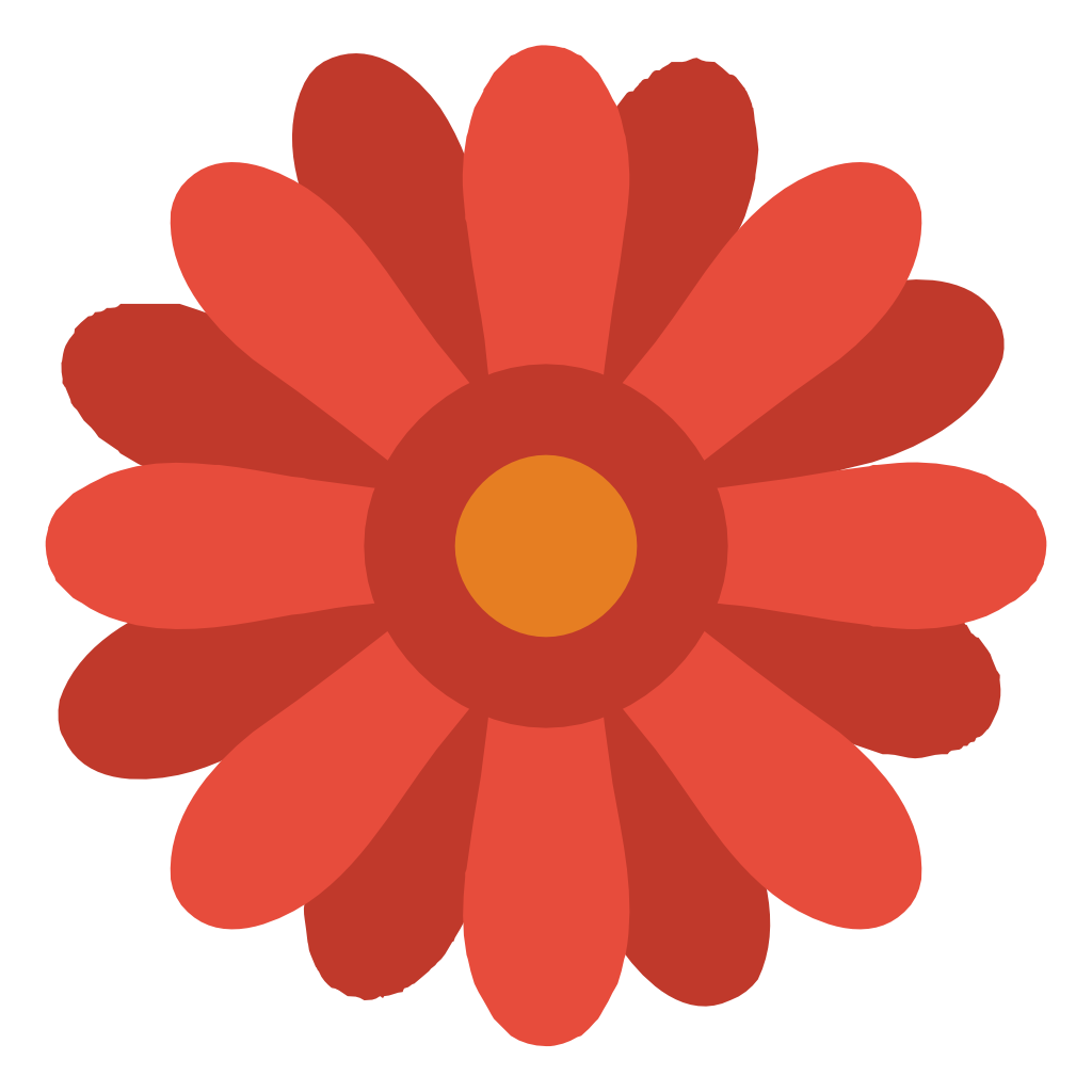 flower icon small amp flat iconset paomedia