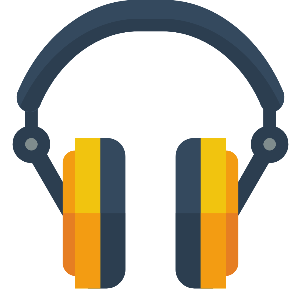 Headphone Icon | Small & Flat Iconset | paomedia