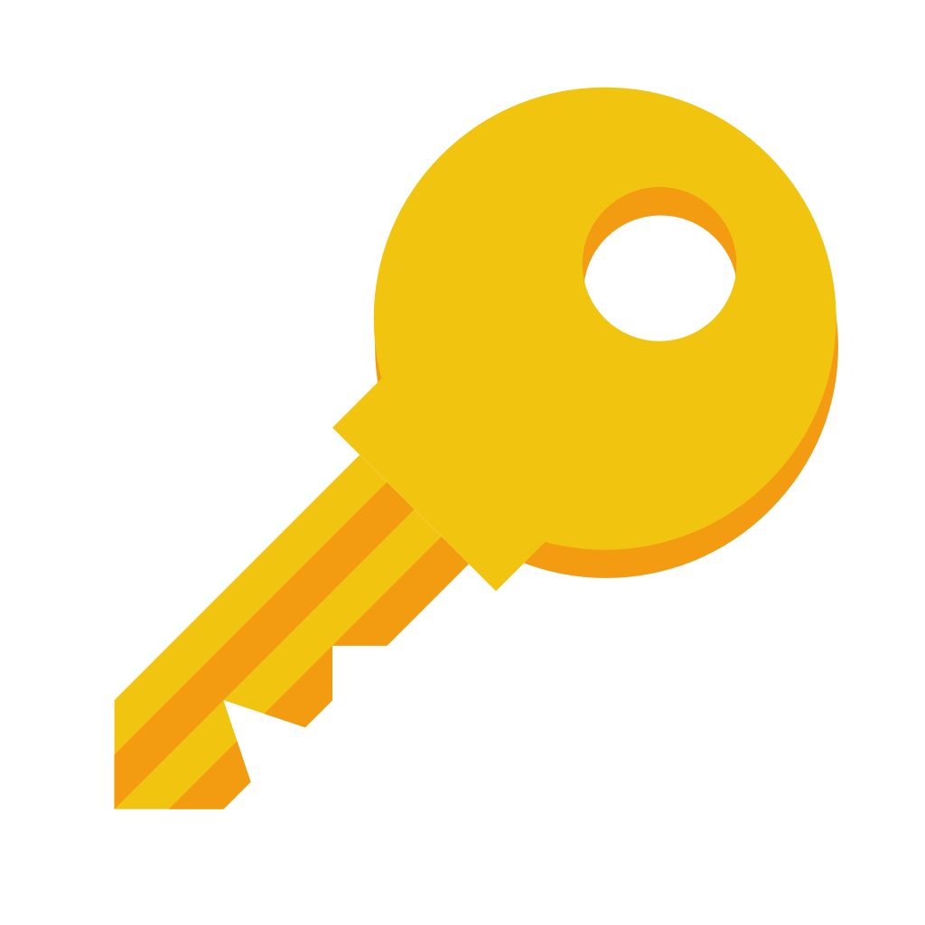 Key Icon | Small & Flat Iconset | paomedia