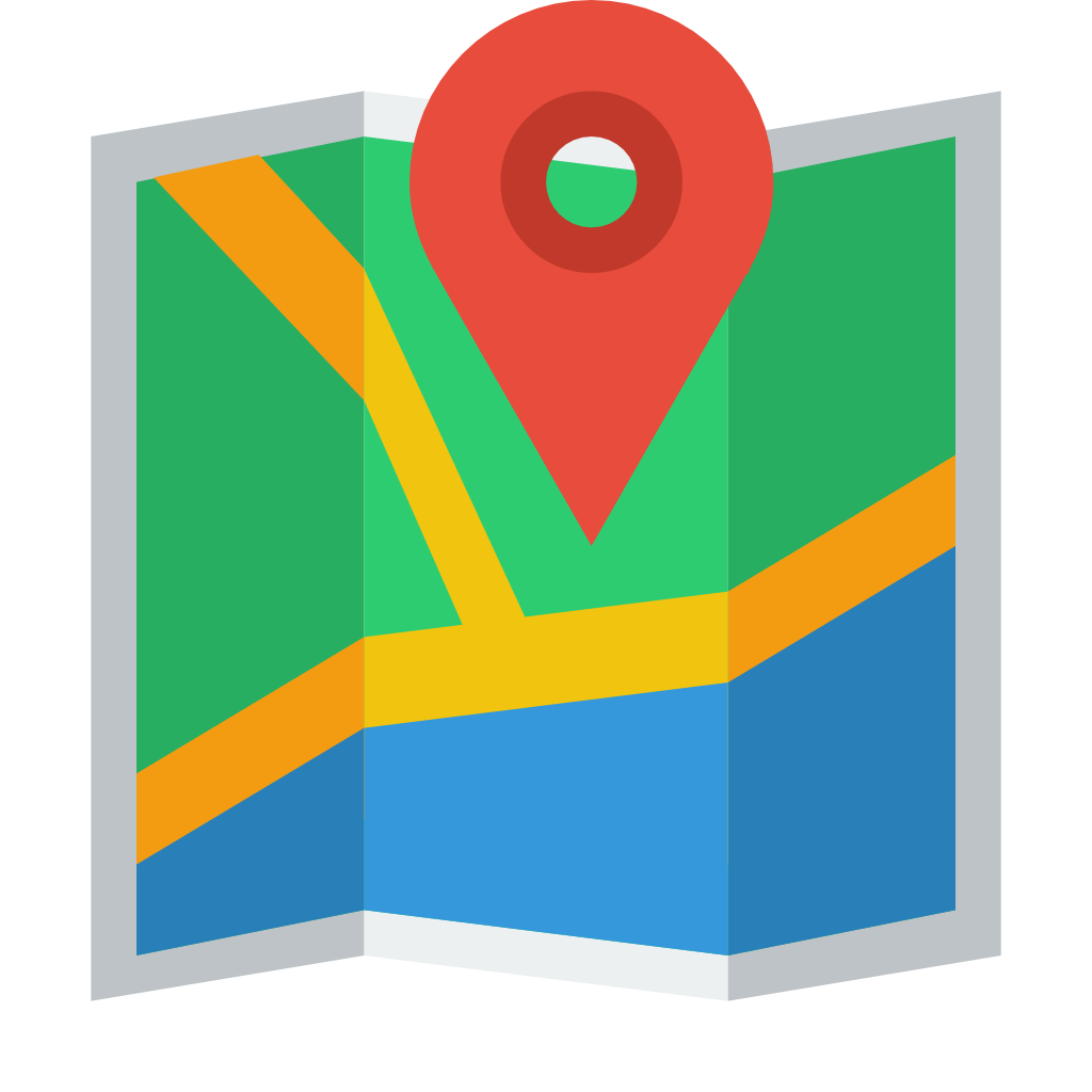 Map map marker Icon | Small & Flat Iconset | paomedia