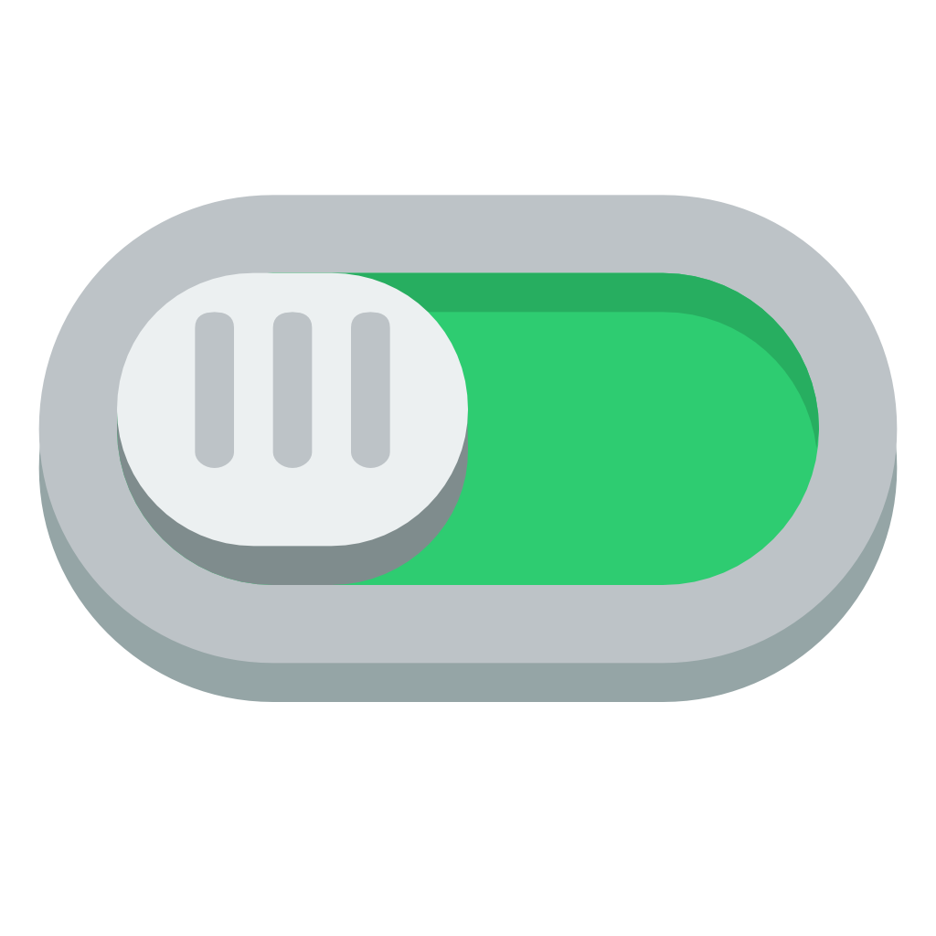 Switch on Icon | Small & Flat Iconset | paomedia