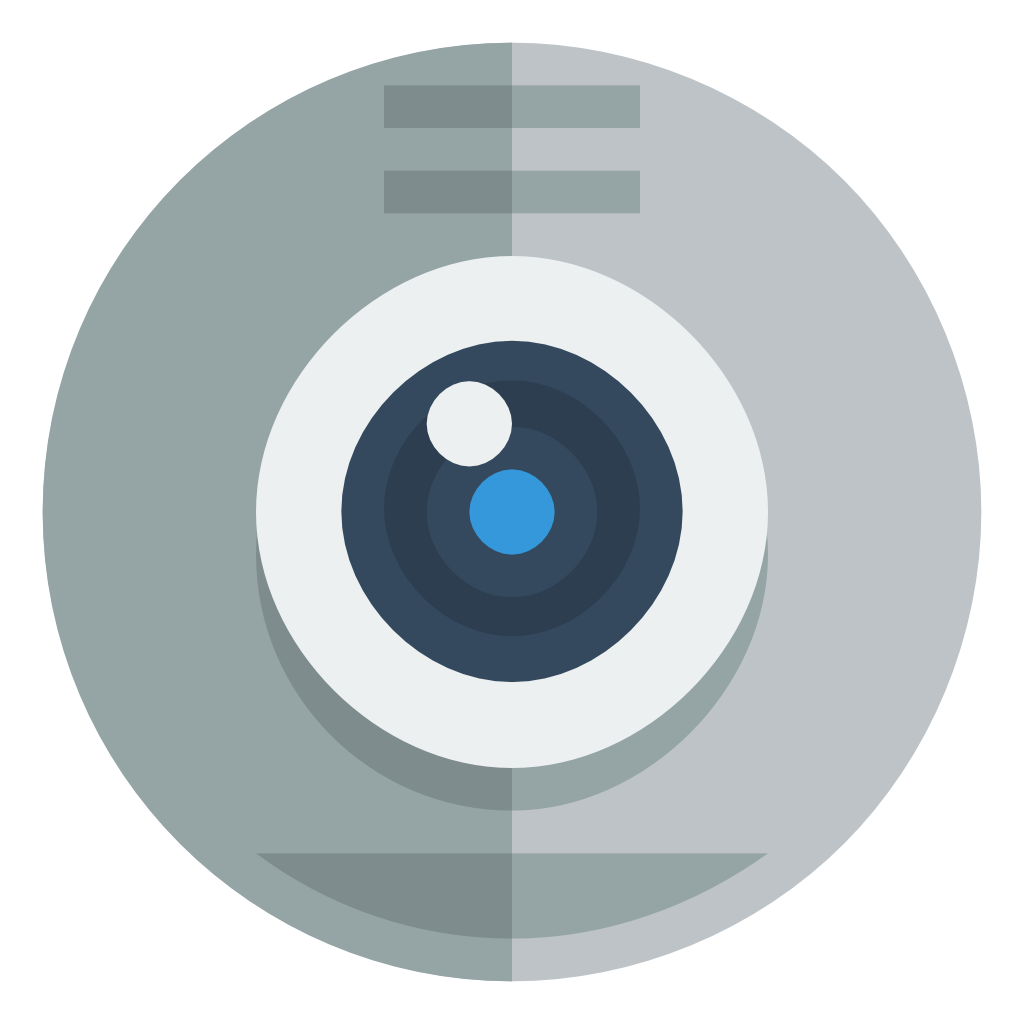 Webcam Icon   Small & Flat Iconset   paomedia