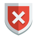 Shield error icon