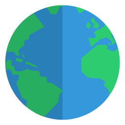 Image result for earth flat icon