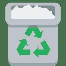 Trashcan full icon