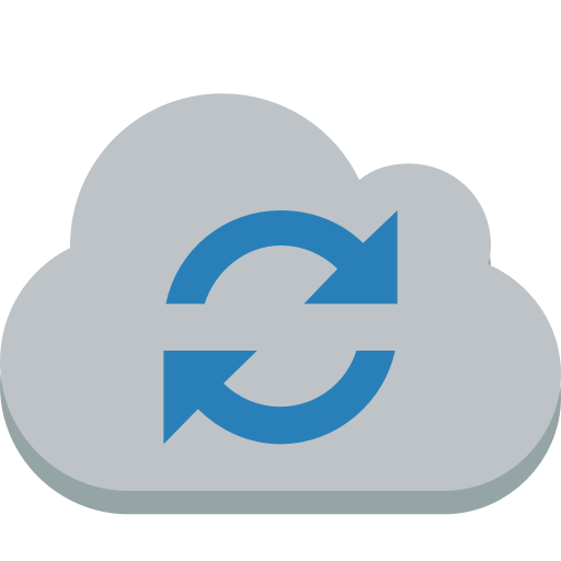 Cloud-sync icon