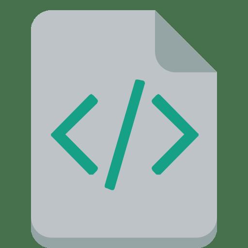 File-code icon