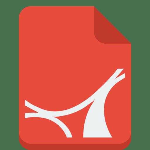 File pdf Icon | Small & Flat Iconset | paomedia