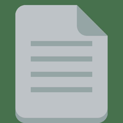 File text Icon | Small & Flat Iconset | paomedia