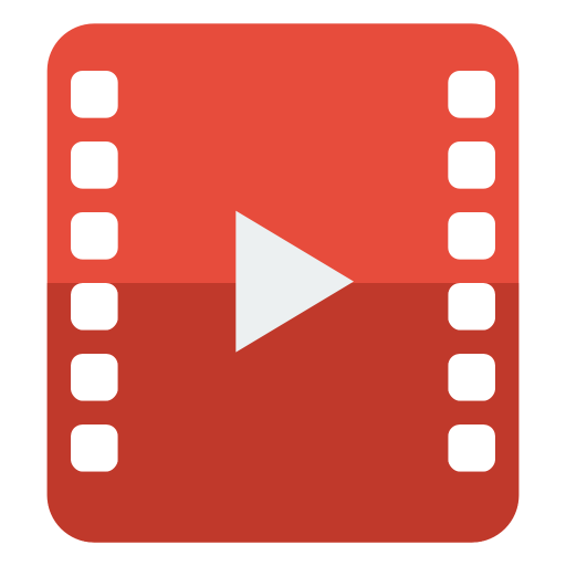 File video Icon | Small & Flat Iconset | paomedia