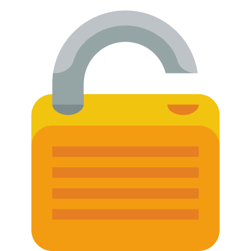 lock open icon