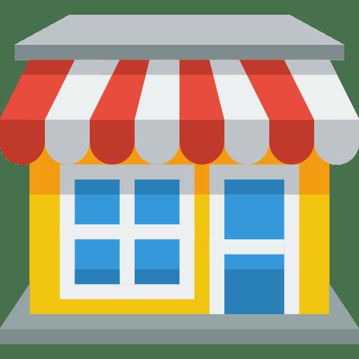 shop icon small amp flat iconset paomedia