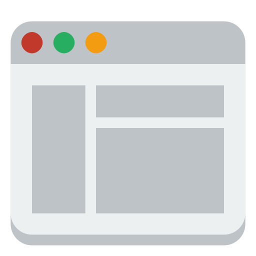 Window-layout icon