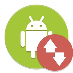 Android file transfer icon
