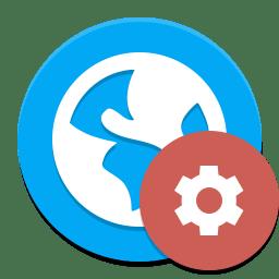 Applications development web icon