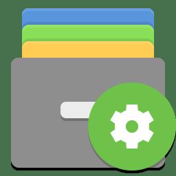 Caja actions icon