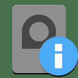 Disk usage analyzer icon