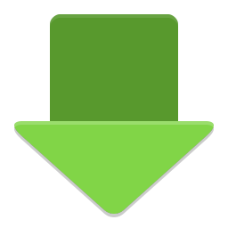Downloader arrow icon