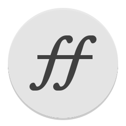 Fontforge icon