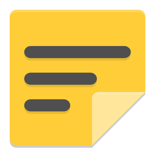 Accessories-notes icon
