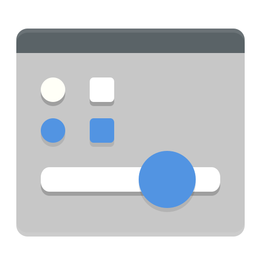 Applications-interfacedesign icon