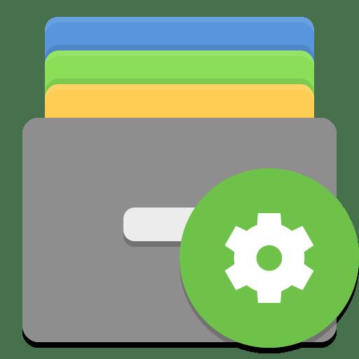 Caja-actions icon