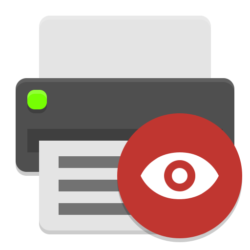 Document-print-preview icon