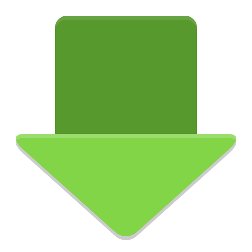 Downloader arrow icon