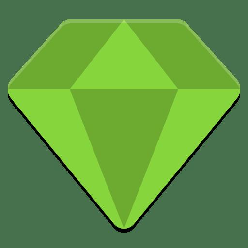 Emerald theme manager icon icon
