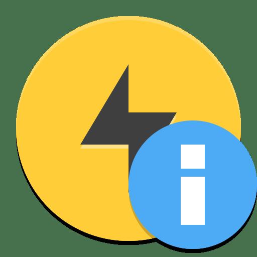 Gnome power statistics icon