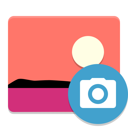 Multimedia-photo-manager icon