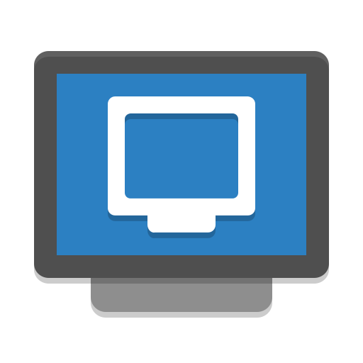 Preferences-desktop-remote-desktop icon