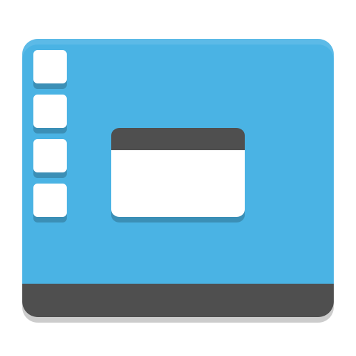 Preferences desktop theme icon