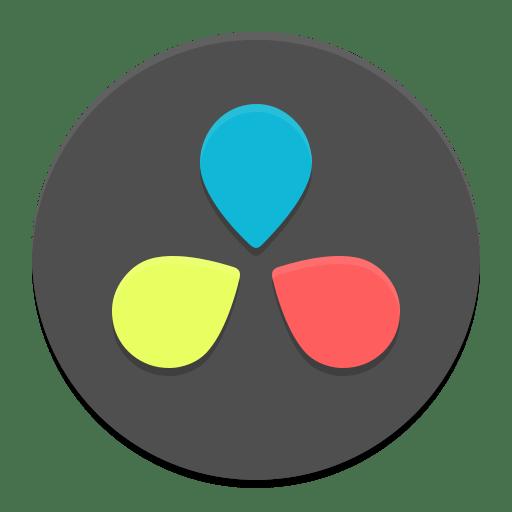 Resolve icon