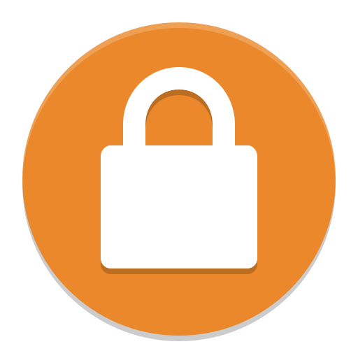 System-lock-screen icon