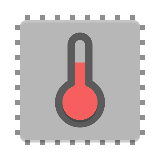 Thermal-monitor icon