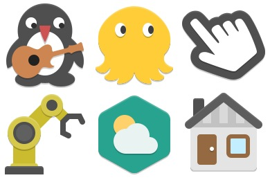 Papirus Apps Icons