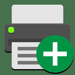 Gnome dev printer new icon