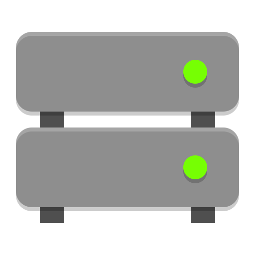 Drive multidisk icon
