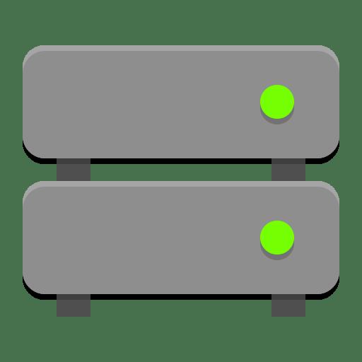 Drive-multidisk icon