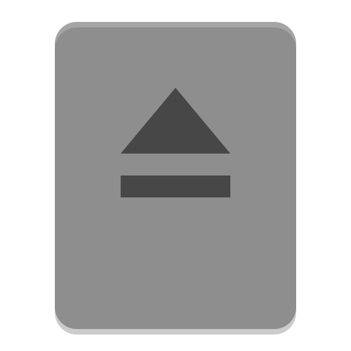 Drive removable media icon