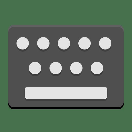 Input keyboard icon